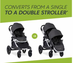 Baby Jogger City Select double stroller for Sale in Mandeville, LA