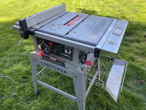 "Craftsman 10"" Table Saw for Sale in Hillsboro, OR"