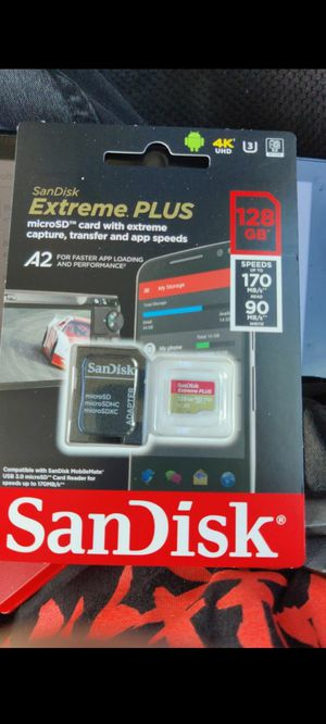 128GB SD Card for Sale in Cypress, CA