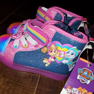 Size 8 Paw patrol sneakers for Sale in Irving, TX