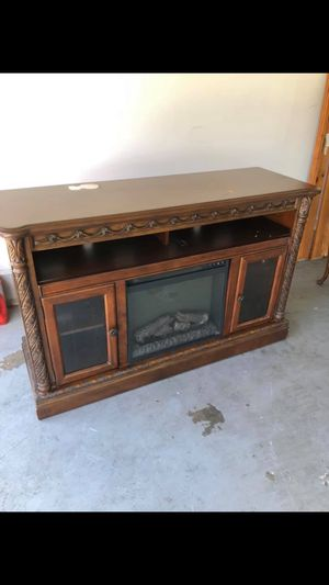Fireplace TV stand for Sale in Murfreesboro, TN