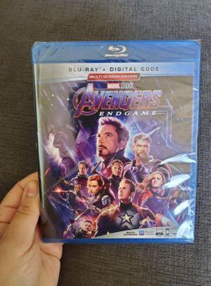 Marvel Avengers Endgame Blu-Ray + Digital Code Brand New for Sale in Destin, FL