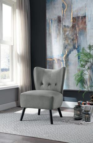 Imani Gray Accent Chair by Homelegance for Sale in Jessup, MD