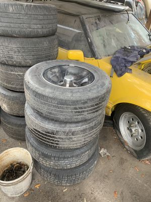Chevy s10 rims and tires for Sale in Tampa, FL