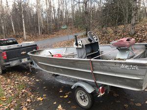 16' Mon Ark aluminum boat for Sale in Anchorage, AK
