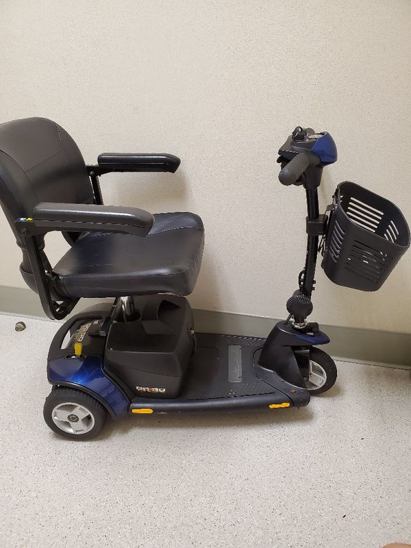 Blue gogo elite3 elite3 scooter