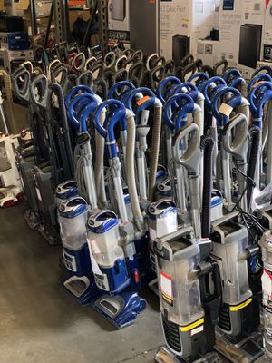 Open Box Vacuums! $40 Any Vacuum! Bissel and Shark! Do Not Ask About Models. for Sale in Santa Ana, CA