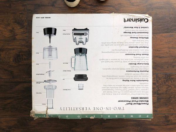 Cuisinart PowerBlend Duet Blender/Food Processor
