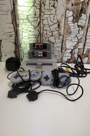 Original Super Nintendo Bundle for Sale in Denver, CO
