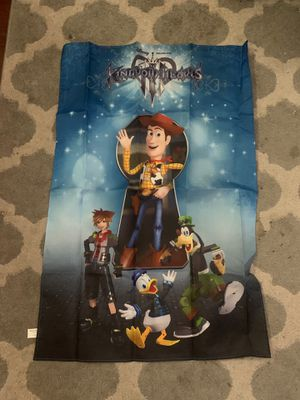 Kingdom Hearts III poster for Sale in Tolleson, AZ