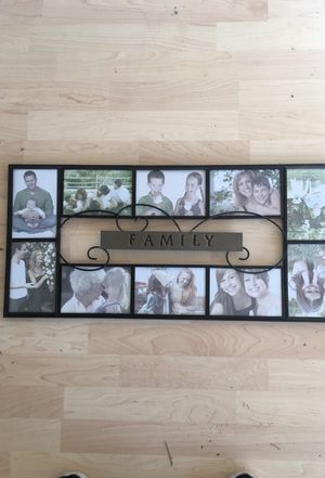 Collage photo frame for Sale in Tacoma, WA