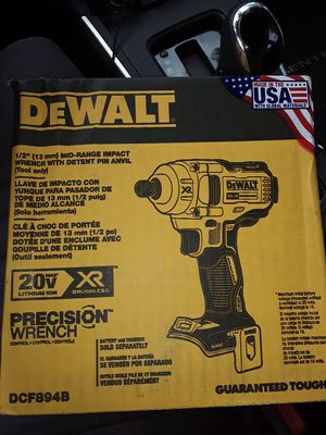 DeWalt half inch impact wrench tool only .. brand new for Sale in Miami, FL