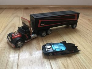 Hotwheels semi truck and car for Sale in Inwood, WV