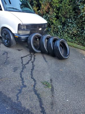 4 tires size 18 for Sale in Auburn, WA