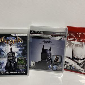 3 Batman Games For PS3 - NEW $20 for Sale in Countryside, IL