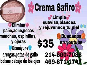 Crema safiro for Sale in Dallas, TX