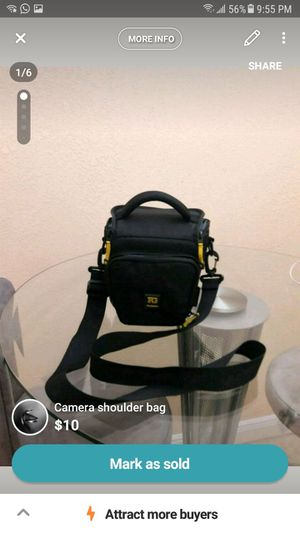 Camera shoulder bag for Sale in Miami, FL
