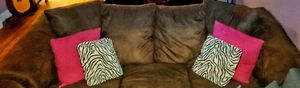 Brown sofa bed couch in good condition for Sale in Valley Stream, NY