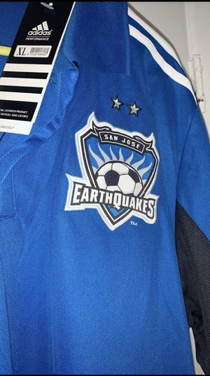 Brand New San Jose MLS Earthquakes Adidas Performance Rare Practice Jersey XL for Sale in West Hollywood, CA