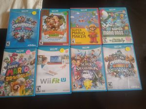 Nintendo Wii U games different prices for Sale in San Diego, CA