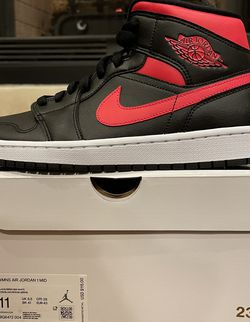 Nike Air Jordan 1 Mid Size 9.5 Men's / 11 Women's (BQ6472-004) for Sale in Yukon,  OK