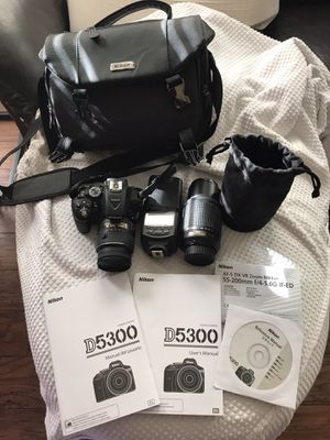 Nikon D5300 Dual Lens Camera Set for Sale in Mesquite, TX