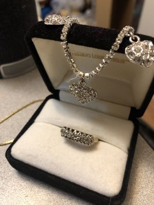 Ring size 6 . .925 silver for Sale in Sterling, KS