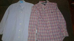Set of 4 Ralph Lauren shirts boys size 7 for Sale in West Palm Beach, FL