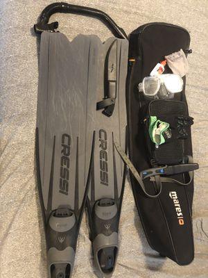 Cressi dive/snorkel set for Sale in Sullivan, ME