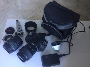 Sony Alpha 230 digital Camera Kit for Sale in Miami, FL