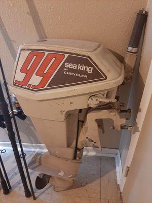 9.9 2-stroke Chrysler sea king outboard for Sale in San Antonio, TX