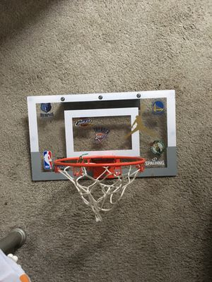 New mini basketball ball hoop $20 for Sale in Quincy, MA