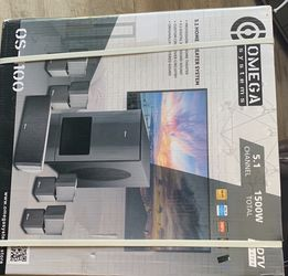 omega systems 5.1 home theater system for Sale in Pompano Beach,  FL