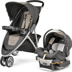 Chicco Viaro Travel System, Teak for Sale in Cleveland, OH