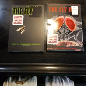 THE FLY. And THE FLY ll. Each 2 Disk for Sale in Tampa, FL