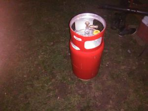 Welders supply propane tank in mint condition. Use only a couple times. Nice for camping for Sale in Louisville, KY