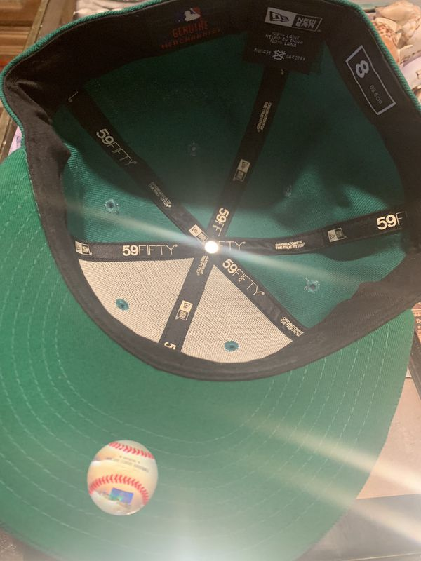 GREEN BOSTON RED SOX NE FITTED SIZE 8