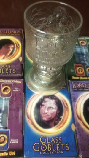 Lord of the ring cups for Sale in San Jose, CA