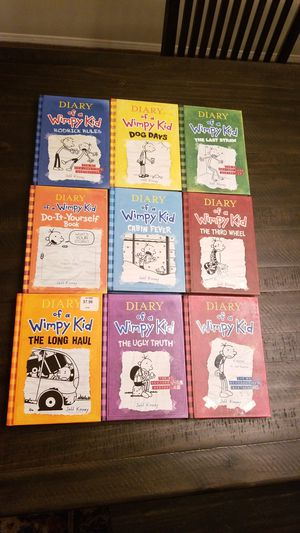 Diary of a Wimpy Kid set for Sale in Temecula, CA