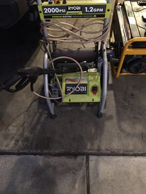 Ryobi pressure washer for Sale in Cleveland, OH