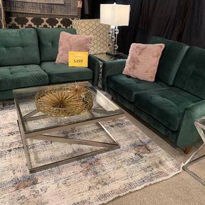 Velvet Loveseat (Modern Home Furniture ) for Sale in Everett,, WA