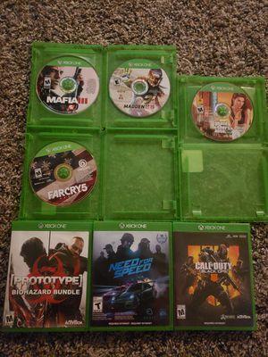 Xbox one games for Sale in Dallas, TX