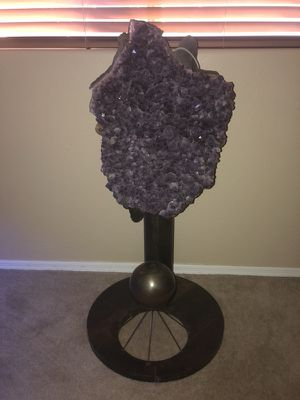 Very large amethyst sculpture for Sale in Phoenix, AZ