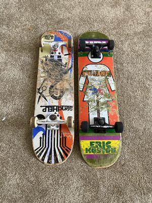 Pair of men's skateboard decks alien workshop and girl for Sale in Gibsonton, FL
