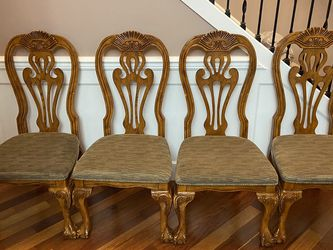 4 Wood Dining Chairs (no table) for Sale in Everett,  WA