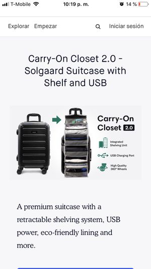 Lifepack Carry On Closet Retails for: $225 Sell for: $175 for Sale in Los Angeles, CA