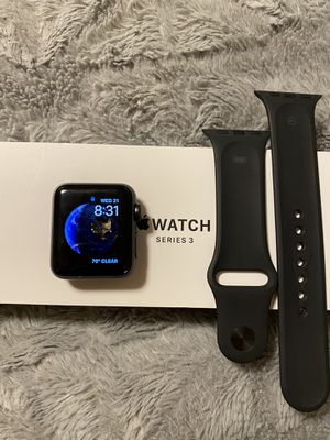 Apple Watch series 3 with box for Sale in Sacramento, CA