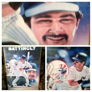 MLB Don Mattingly NY Yankees Wallhanging for Sale in Mount Vernon, IN