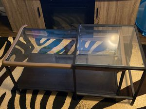 Nesting tables set of 2 for Sale in Bangor, ME