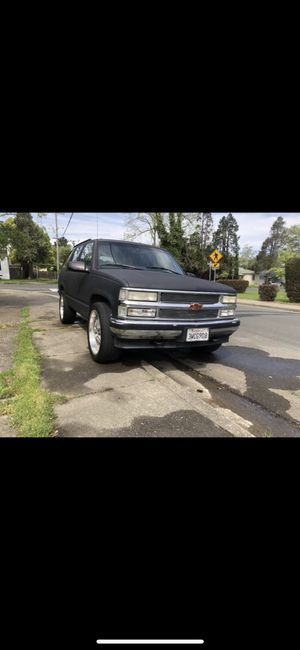 1997 tahoe 4wd for Sale in Vallejo, CA